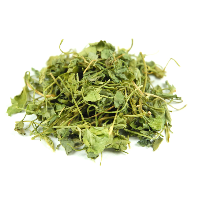 Bukkehornsblade, tørrede • Fenugreek leaves, dried • Kasoori methi