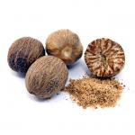 Muskatnød, hel • Nutmeg • Jaiphal
