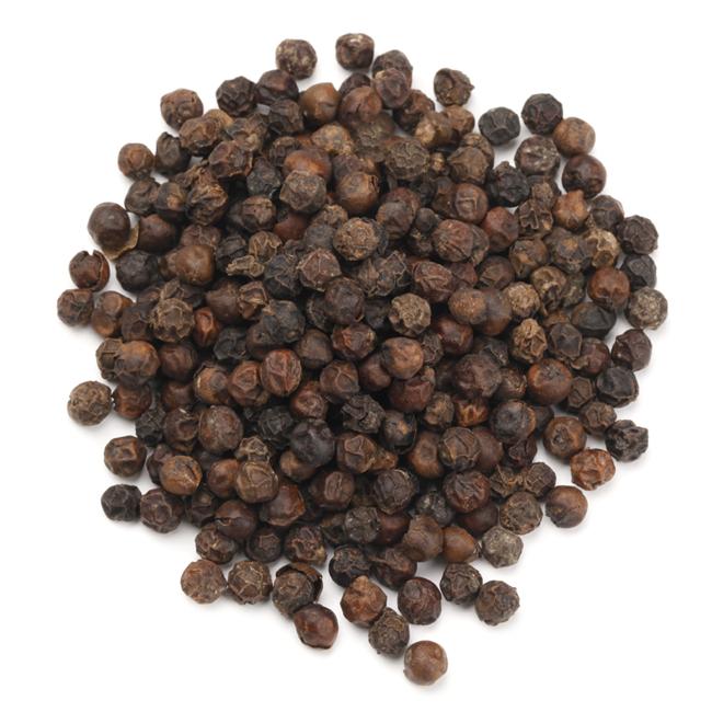 Sorte peberkorn, hele • Black peppercorns • Kali mirch