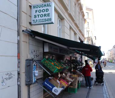 Moughal Food Store, Vesterbrogade 118 1620 København V