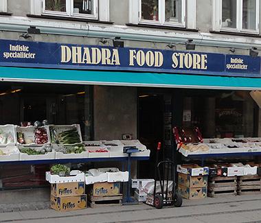 Dhadra Food Store, Nørrebrogade 60, 2200 København