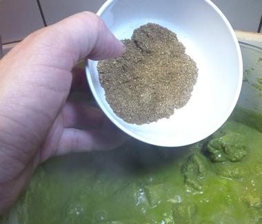 krydderiblandingen