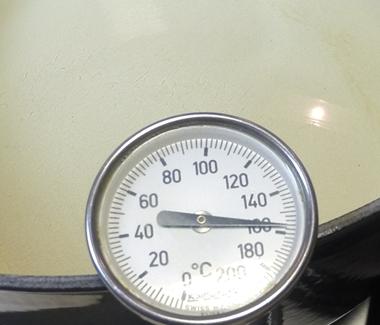 olien skal være 170-180 grader varm