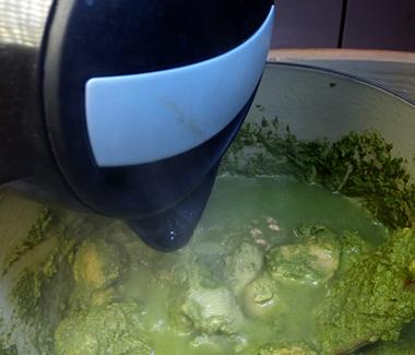 Tilsæt varmt vand